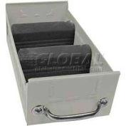 "Equipto Individual Metal Shelf Drawer, 5-5/8""w x 17""D x 3-1/8""H, Textured Putty"