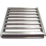 "Track Span - 15""W x 48""D Section Flow Rack Span - Mirror Silver"