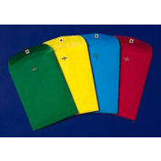 Fashion Color Clasp Envelopes, Green, 9 x 12, 10/Pack