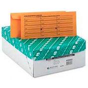 Kraft Interoffice Envelopes, Printed One Side, 4-1/2 x 10-3/8, 500/Box