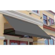 Awntech ER24-3G, Window/Entry Awning 3-3/8'W x 2'H x 4'D Gray