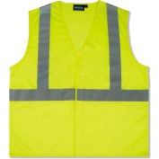 Aware Wear® ANSI Class 2 Hi-Vis T-Shirt, Short Sleeve, 14113 - Lime, Size XL