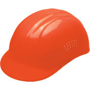 ERB® Vented Bump Cap, 4-Point Suspension, Orange, 19113
