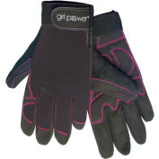ERB®  Women's Mechanics Gloves, Black, XS, 28861
