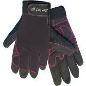 ERB®  Women's Mechanics Gloves, Black, S, 28862