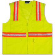Aware Wear® Non-ANSI Vest, 61322 - Lime, Size XL