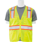 Aware Wear® Non-ANSI Vest, 61324 - Lime, Size 3XL