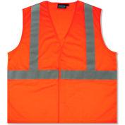 Aware Wear® ANSI Class 2 Economy Mesh Vest, 61437 - Orange, Size 3XL