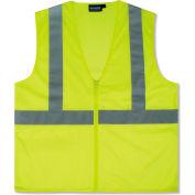 Aware Wear® ANSI Class 2 Economy Mesh Vest, 61445 - Lime, Size M