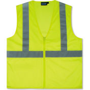 Aware Wear® ANSI Class 2 Economy Mesh Vest, 61449 - Lime, Size 3XL