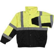 Aware Wear® Winter Wear ANSI Class 2 Bomber Jacket, 61596 - Lime/Black, Size 4XL