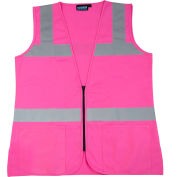 Aware Wear® S721 Non-ANSI Female Vest, 61914, Pink, 3XL