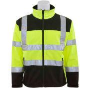 ERB™ 62203, W650 Aware Wear Hi-Vis Soft Shell Jacket, Class 3, Hi-Vis Lime/Black, M