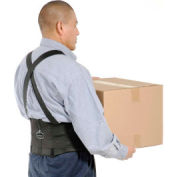 "Ergodyne® ProFlex® 1650 Economy Back Support with Suspenders, 4XL, 52-58"" Waist Size"