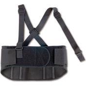 Ergodyne® ProFlex® 1600 Standard Elastic Back Support, Black, Small