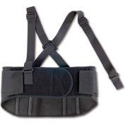 Ergodyne® ProFlex® 1600 Standard Elastic Back Support, Black, Medium