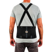 Ergodyne® ProFlex® 1100SF Standard Back Support, Black, XS