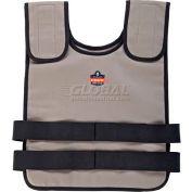 Ergodyne® Chill-Its® 6200 Phase Change Cooling Vest, Khaki, L/XL