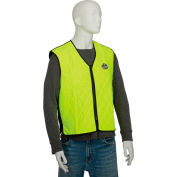Ergodyne® Chill-Its® 6665 Evaporative Cooling Vest, Lime, 2XL