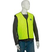 Ergodyne® Chill-Its® 6665 Evaporative Cooling Vest, Lime, 3XL