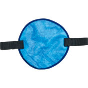Ergodyne® Chill-Its® 6715CT Evaporative Cooling Hard Hat Pad with Cooling Towel, Blue - Pkg Qty 6