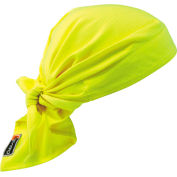 Ergodyne® Chill-Its® 6710FR Evaporative FR Cooling Triangle Hat, Lime - Pkg Qty 6