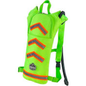 Ergodyne® Chill-Its® Hi-Vis Low Profile Hydration Pack, Lime, 2 Liter