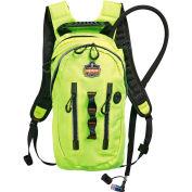 Ergodyne® Chill-Its® 5157 Premium Cargo Hydration Pack, Hi-Vis Lime, 2 Liter