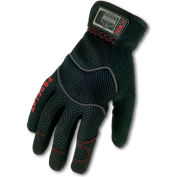 Ergodyne® ProFlex® 815 Utility EZ Gloves, Black, Small