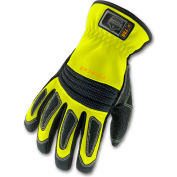 Ergodyne® ProFlex® 730 Fire & Rescue Performance Gloves, Lime, Small