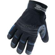 Ergodyne® ProFlex® Thermal Waterproof Utility Gloves W/OutDry®, XL, Black, 16465