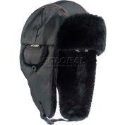 Ergodyne® N-Ferno® 6802 Classic Trapper Hat, S/M, Black, 16843