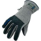 Ergodyne® ProFlex® 813 Fleece Utility Gloves, 2XL, Black, 17066