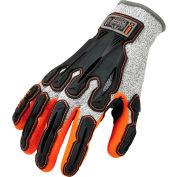 Ergodyne® ProFlex® 922CR Level 5 Cut Resistant Nitrile-Dipped DIR Gloves, Gray, S, 1 Pair