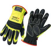 Ergodyne® ProFlex® 730OD Fire & Rescue Performance Gloves W/OutDry® BBP, Lime, XL