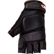 Ergodyne® ProFlex® 900 Half-Finger Impact Gloves, Black, M, 17693