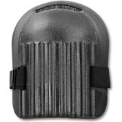 "Ergodyne® ProFlex® 200 Short Cap Light Duty Knee Pad, 6"" x 10"", Black"