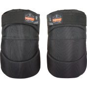Ergodyne® ProFlex® 230HL Wide Soft Cap Knee Pad, Black, One Size