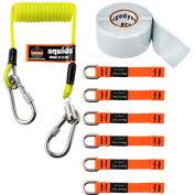 Ergodyne® Squids® 3180 Tool Tethering Kit, 2 lbs Capacity, 19650