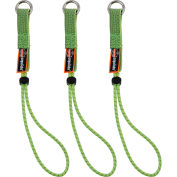 "Ergodyne® Squids® 3703 Elastic Loop Tool Tails™, 15 lbs., Lime, Standard 11"" - Pkg Qty 6"