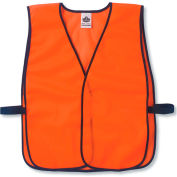 Ergodyne® GloWear® 8010HL Non-Certified Economy Vest, Orange, One Size