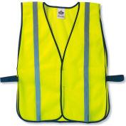 Ergodyne® GloWear® 8020HL Non-Certified Standard Vest, Lime, One Size - Pkg Qty 24
