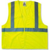 Ergodyne® GloWear® 8205HL Class 2 Super Econo Vest, Lime, 2XL/3XL