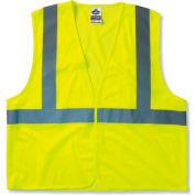 Ergodyne® GloWear® 8210HL Class 2 Economy Vest, Lime, 2XL/3XL