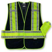 Ergodyne® GloWear® 8240HL Class 2 Two-Tone Expandable Vest, Navy, M/L
