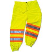 Ergodyne® GloWear® 8911 Class E Two-Tone Pants, Lime, 4XL/5XL