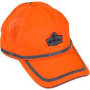 Ergodyne® GloWear® 8930 Class HW Hi-Vis Baseball Cap, Orange, One Size