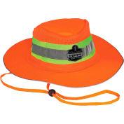 Ergodyne® GloWear® 8935 Class HW Hi-Vis Ranger Hat, Orange, L/XL