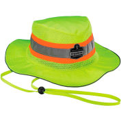 Ergodyne® GloWear® 8935 Class HW Hi-Vis Ranger Hat, Lime, S/M