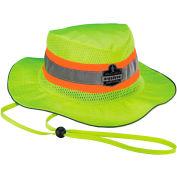 Ergodyne® GloWear® 8935 Class HW Hi-Vis Ranger Hat, Lime, L/XL